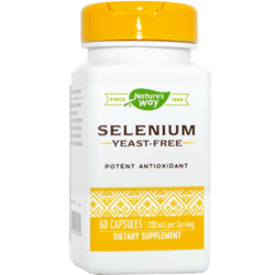 Selenium 200mcg 60cps NATURE'S  WAY