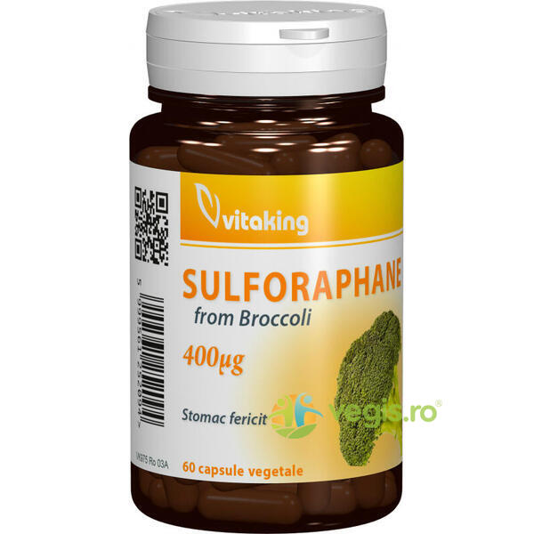 Sulforaphane de Broccoli (Germeni de Brocoli) 60cps VITAKING