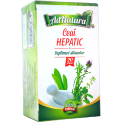 Ceai Hepatic 20dz ADNATURA