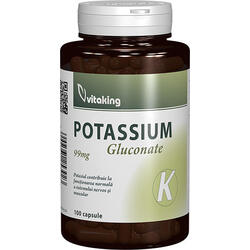 Potasiu (Gluconate) 99mg 100cps VITAKING