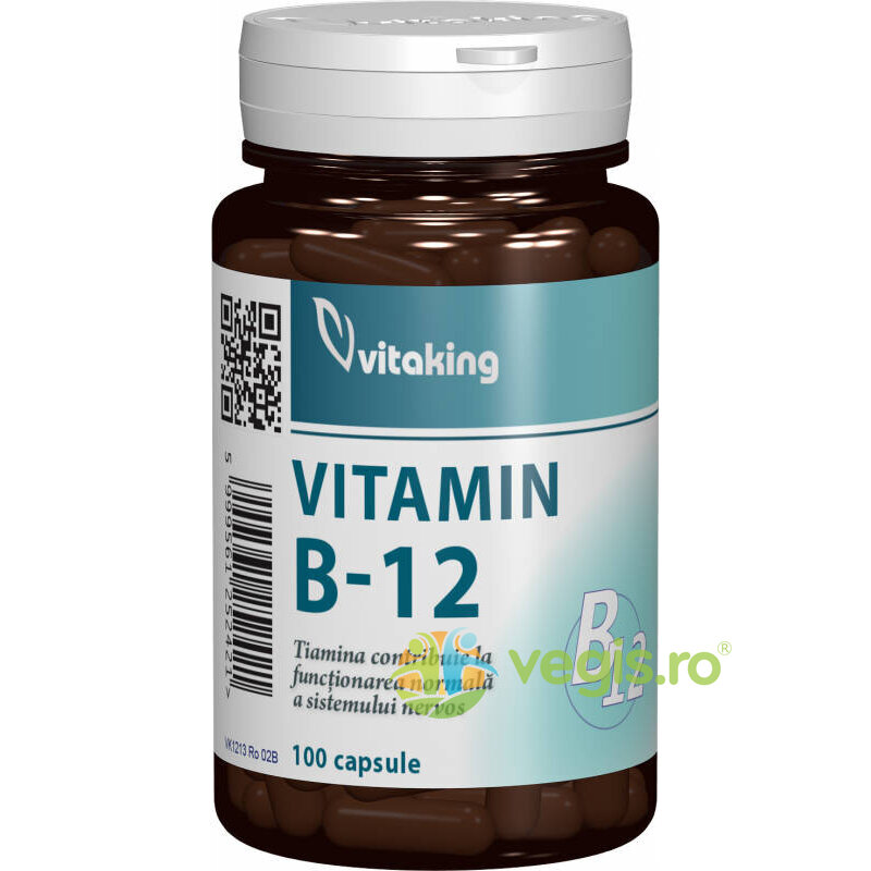 VITAKING VITAMINA B12 500MCG – 100CPR