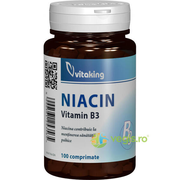 Vitamina B3 (Niacina) 100mg 100cpr VITAKING