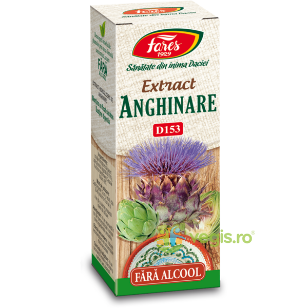 Extract Anghinare fara Alcool (D153) 50ml FARES