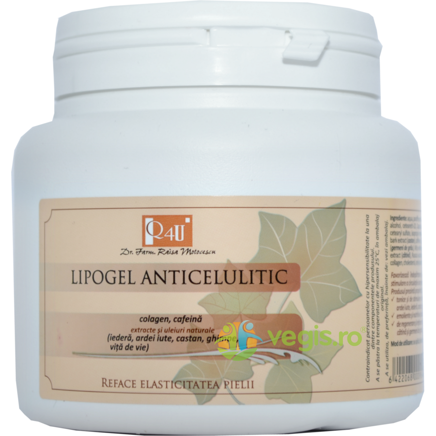 TIS FARMACEUTIC Lipogel Gel Anticelulitic 500ml- FORMULA IMBUNATATITA