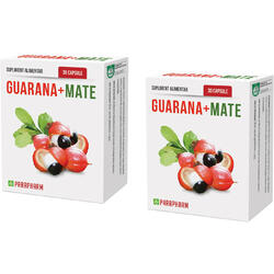 Guarana + Mate 30cps Pachet 1+1 QUANTUM PHARM