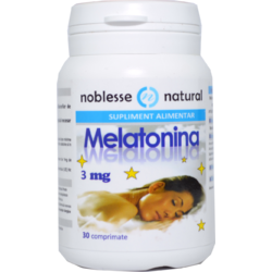 Melatonina 3mg 30cpr NOBLESSE NATURAL