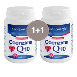 Coenzima Q10 30mg 30cps+30cps BIO-SYNERGIE ACTIV