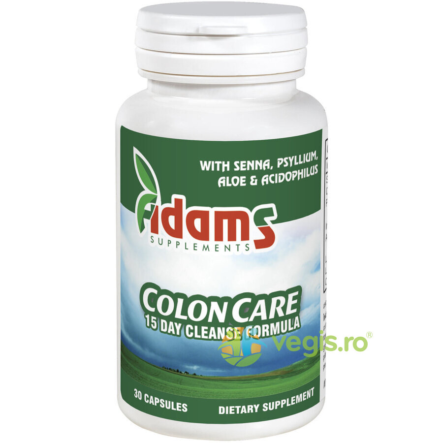 ADAMS VISION ColonCare (Cleanse) 30cps