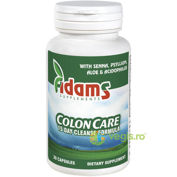 ColonCare (Cleanse) 30cps ADAMS VISION