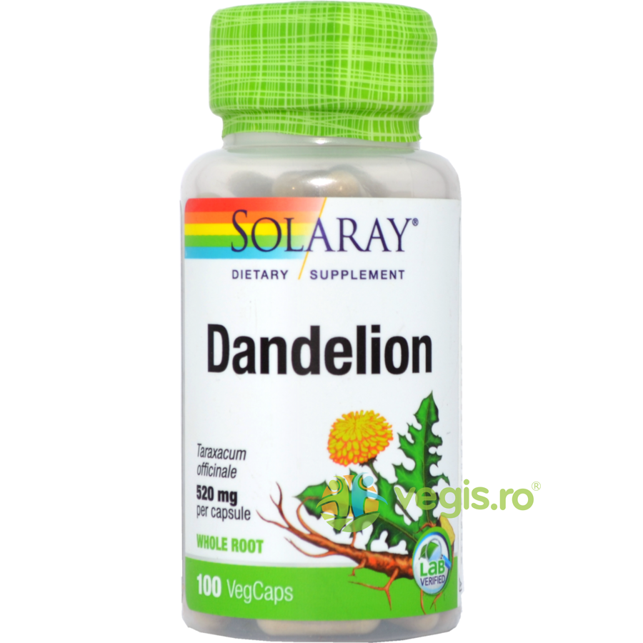 SOLARAY Dandelion (Papadie) 520mg 100cps