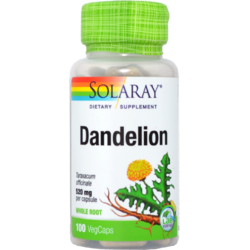 Dandelion (Papadie) 520mg 100cps SOLARAY