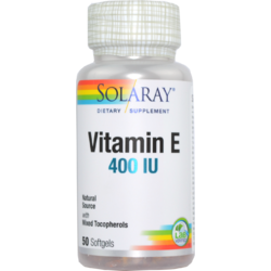 Vitamina E 400UI 50cps SOLARAY