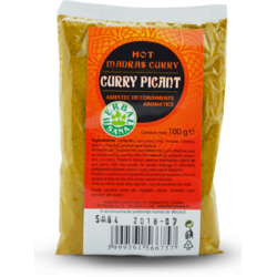 Curry Picant - Hot Madras 100g HERBAVIT