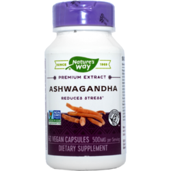 Ashwagandha SE 500mg 60cps NATURE'S  WAY