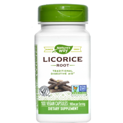 Licorice 450mg (Lemn dulce) 100cps NATURE'S  WAY