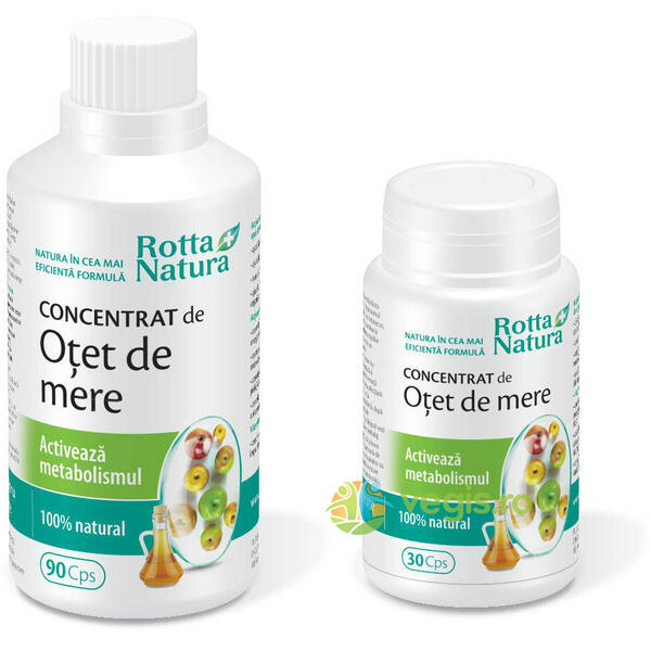 Otet Mere Concentrat Metabolism Activ 90cps+30 Cps ROTTA NATURA