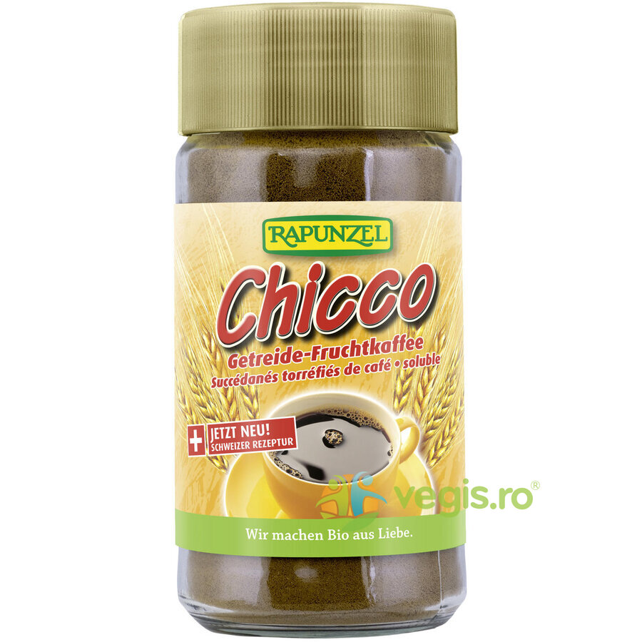 Chicco Instant Cafea de Cereale si Fructe Ecologica/Bio 80g thumbnail