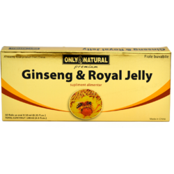 ON Ginseng + Royal Jelly 10fiole*10ml  200+300mg ONLY NATURAL