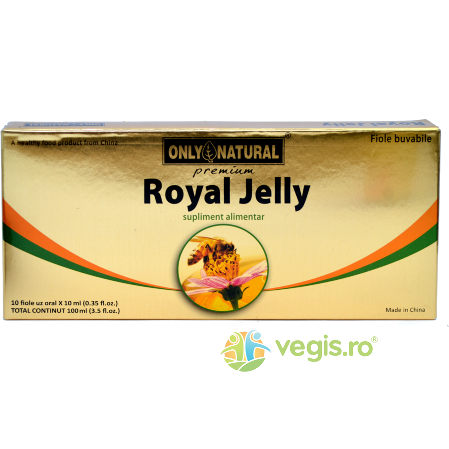 ONLY NATURAL ON Royal Jelly 10 fiole*10ml 300mg