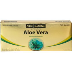 ON Aloe Vera 10fiole*10ml 1000mg ONLY NATURAL