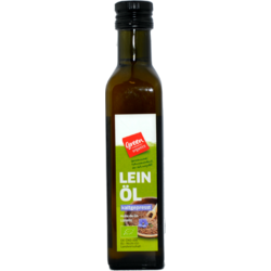 Ulei Din Seminte De In Bio 250ml GREEN ORGANICS