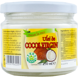 Ulei Cocos virgin 250ml HERBAVIT