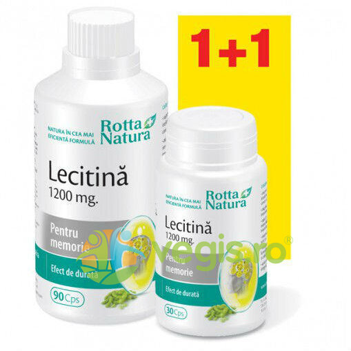 Lecitina 1200mg 90cps+30cps