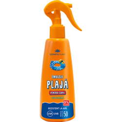 Emulsie Spray pt Plaja Kids SPF 50 200ml COSMETIC PLANT