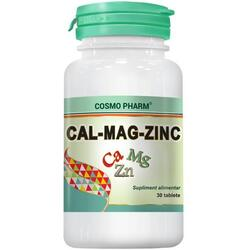 Cal-Mag-Zinc 30cpr COSMOPHARM