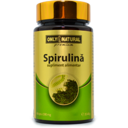 ON Spirulina 60 Cps 590mg ONLY NATURAL